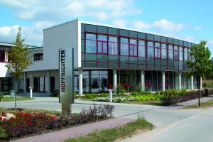 Gewerbeflächen der HOFFRICHTER GmbH im TGZ Schwerin